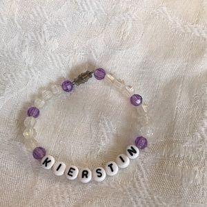 "handmade Accessories - KIERSTIN 6"" personalized bracelet-NEW"